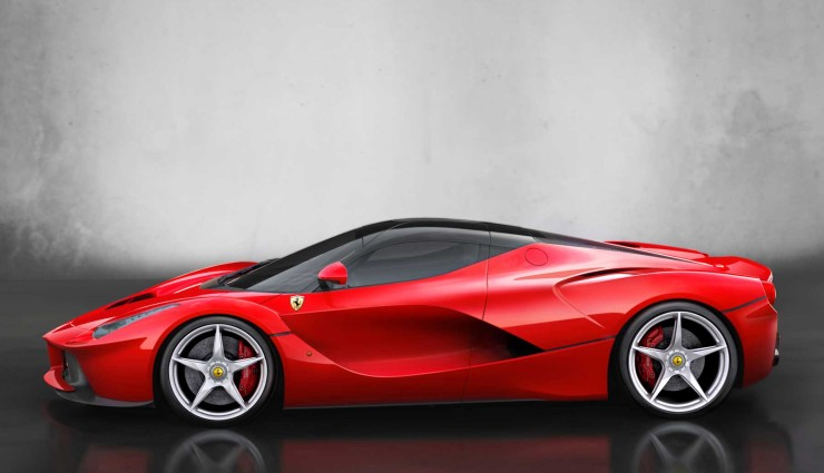 Ferrari LaFerrari Hybrid Seite