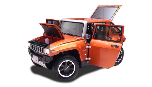 MEV Hummer HX: Der elektrische Mini-Hummer