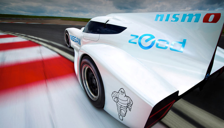 Nissan ZEOD RC Heck