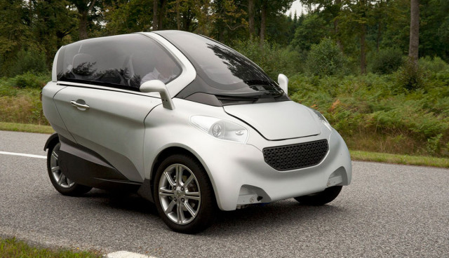 Peugeot-Citroën: Kompakter Elektro-Dreisitzer VELV wäre serienreif