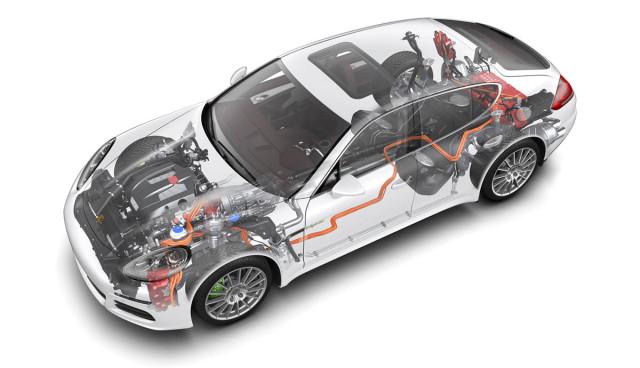 Porsche setzt auf Plug-in-Hybrid in allen Baureihen