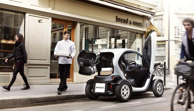 Renault Twizy Cargo beladen