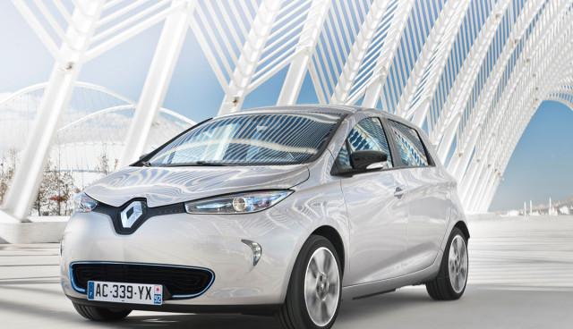 Renault ZOE Elektroauto kaufen Front