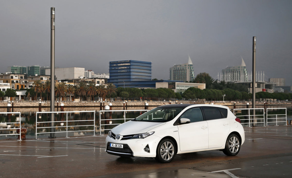 Toyots Auris Hybrid Dauertest