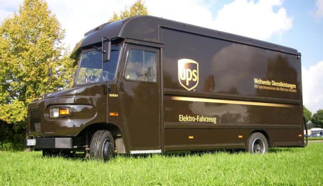UPS Elektro-Lieferwagen