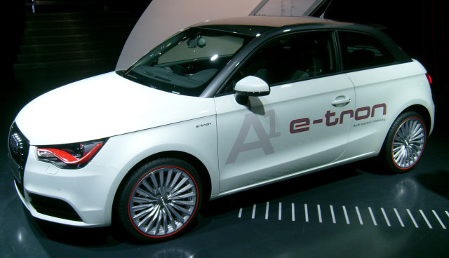 Audi Elektroauto A1 e-tron