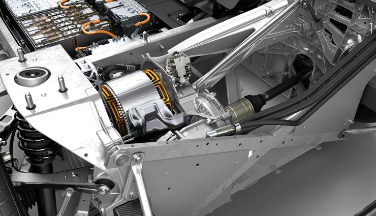 BMW i3 Bilder Motor