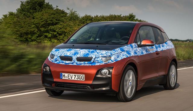 BMW i3 Bilder rot Front