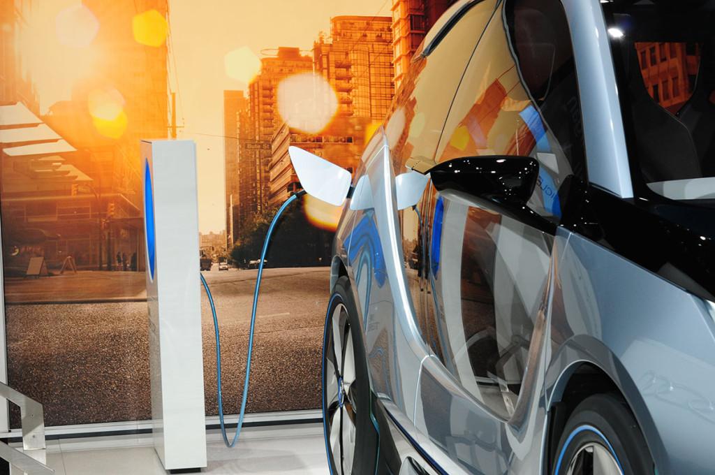 BMW i3 Leihwagen