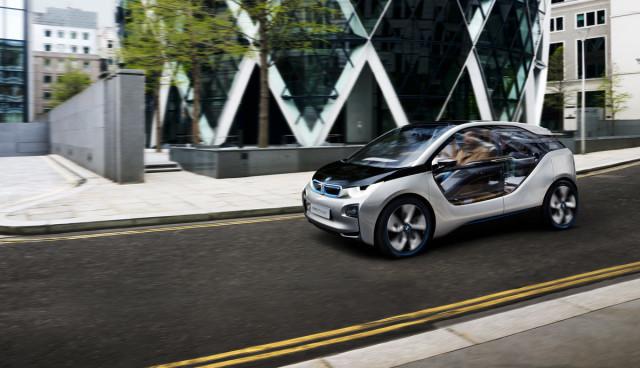BMW i3 (fast) ohne Tarnung erwischt