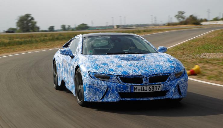 BMW i8 Bilder Prototyp Front