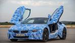 BMW i8 Bilder Prototyp Tueren