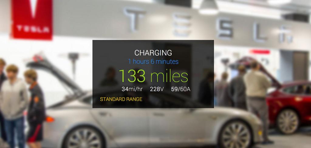 GlassTesla App steuert Tesla Model S über das Smartphone
