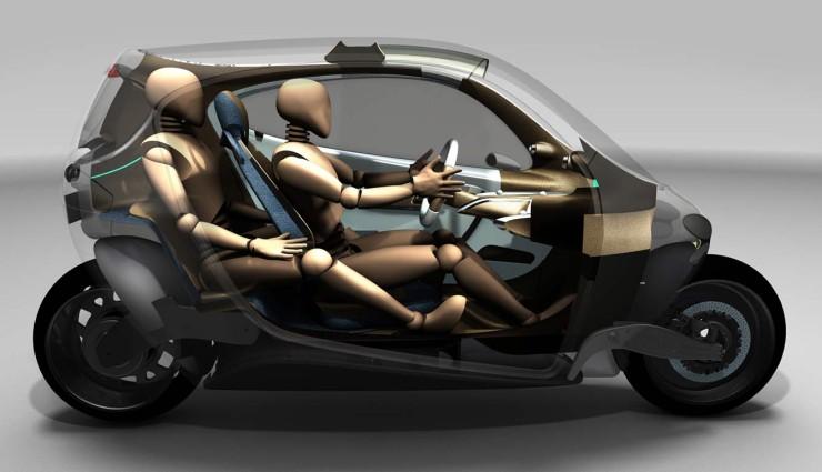 lit motors c1 futuristischer kabinenroller f r 2014 geplant. Black Bedroom Furniture Sets. Home Design Ideas