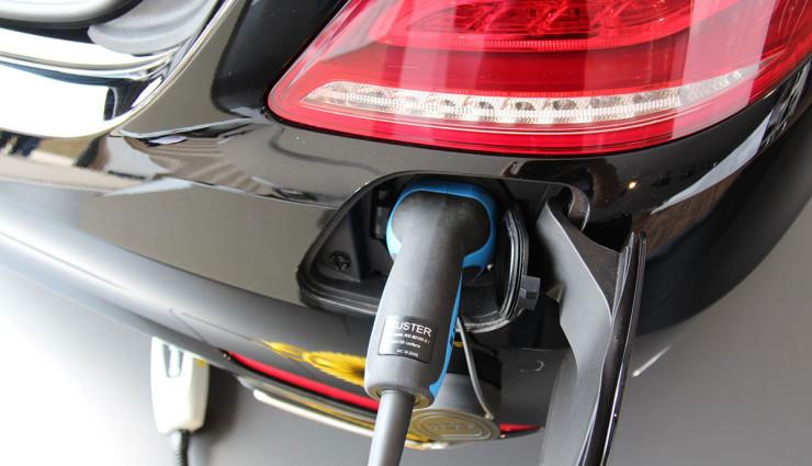 Mercedes-Benz S 500 Plug-In Hybrid - Ladekabel