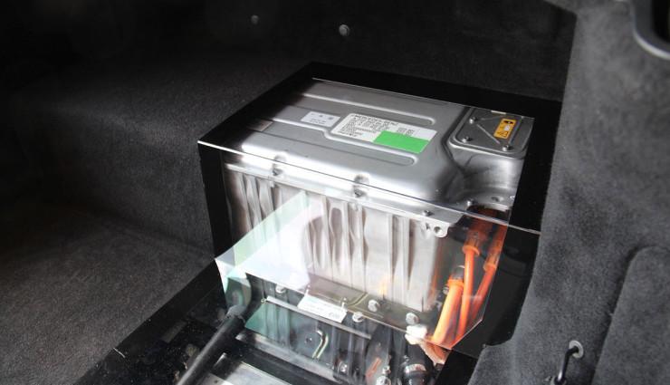 Mercedes-Benz S 500 Plug-In Hybrid - Batterie