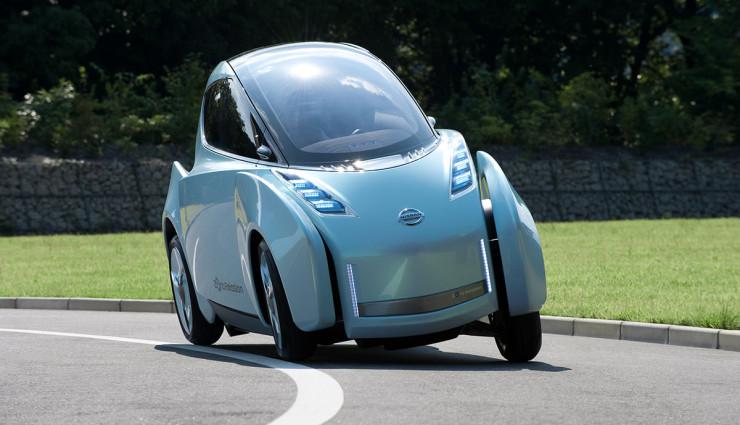Nissan Land Glider Neigetechnik