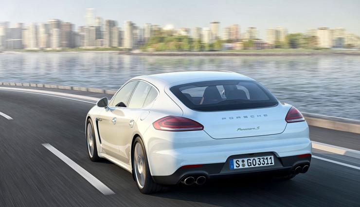 Porsche Panamera S E-Hybrid Heck