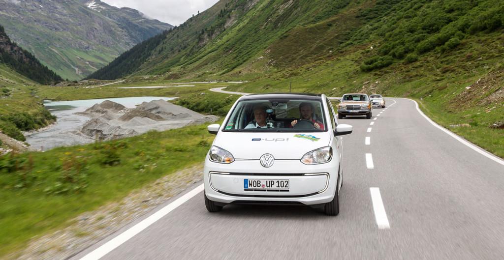 Silvretta E-Auto - Volkswagen e-up