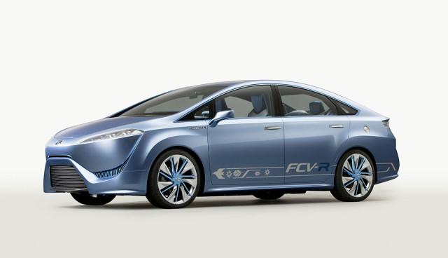Toyota FCV-R Wasserstoff-Serienauto