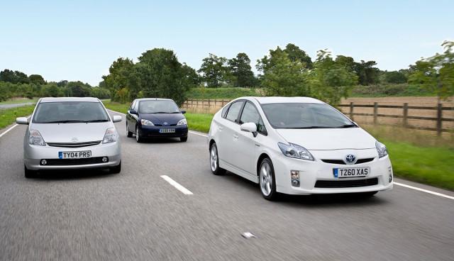 Toyota Prius bereits drei Millionen Mal verkauft