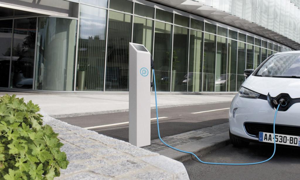 Verhaltensregeln an der Elektroauto-Ladestation