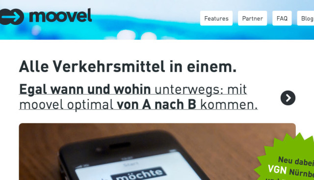 moovel expandiert nach Nürnberg