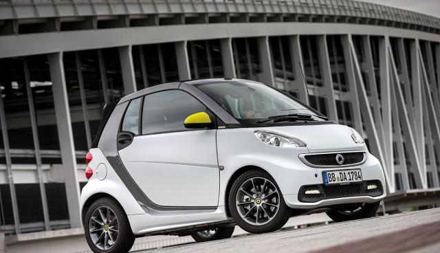 smart fortwo electric drive BoConcept Seite