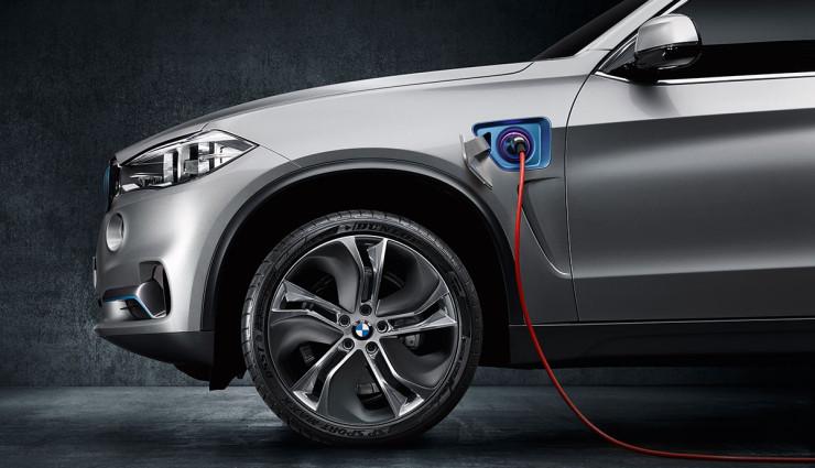 BMW SUV X5 Concept Elektroantrieb