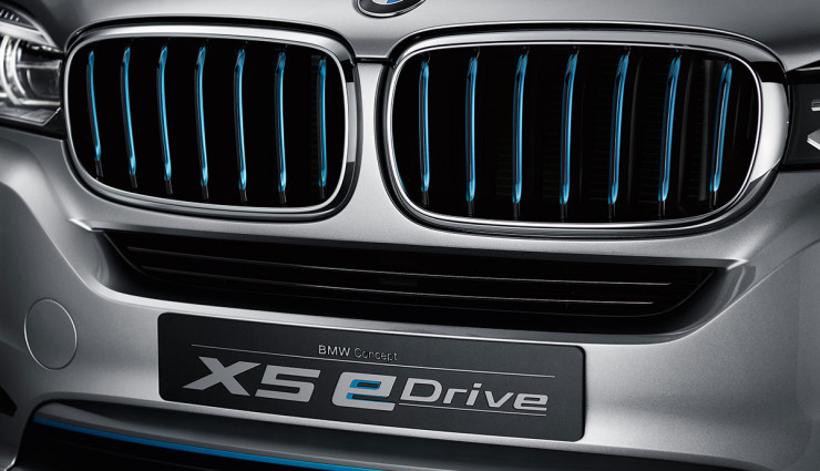 BMW SUV X5 Concept Front