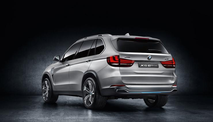 BMW SUV X5 Concept Heck