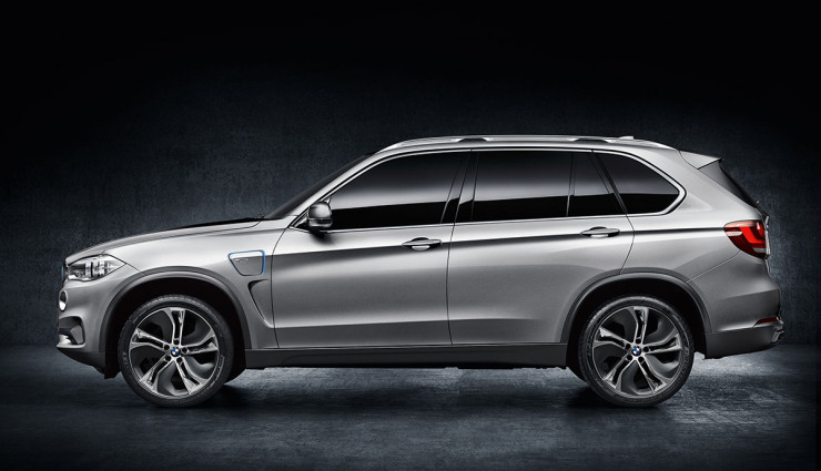BMW SUV X5 Concept Seite