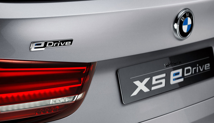 BMW SUV X5 Concept eDrive