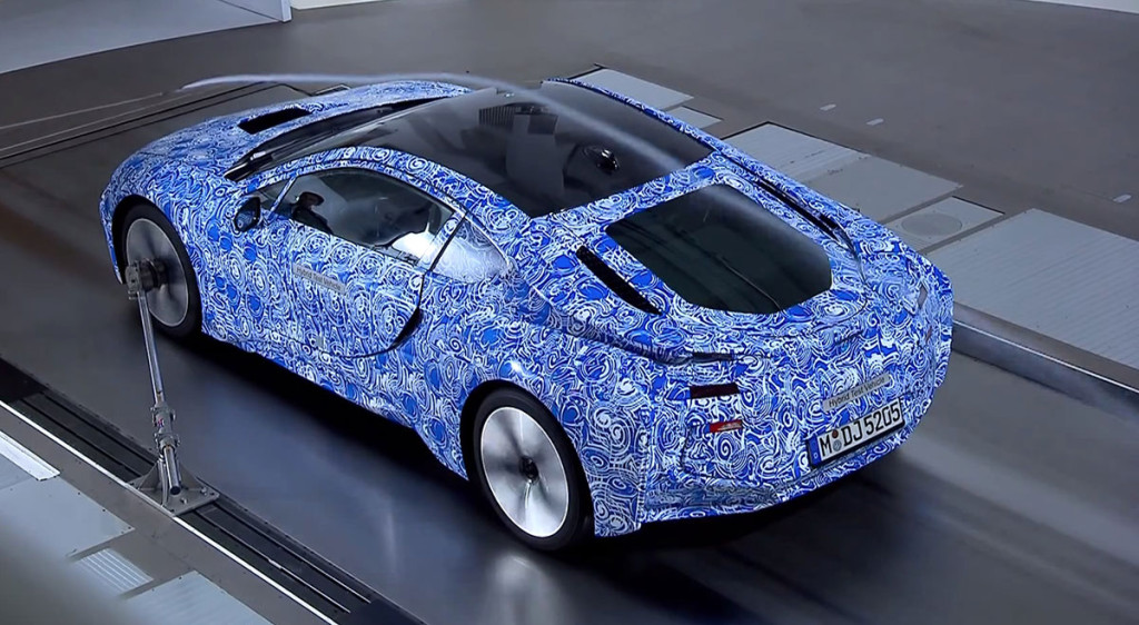 BMW i3 Video Windkanal, Design, Prototyp