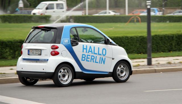 Car2go Köln Geschäftsgebiet