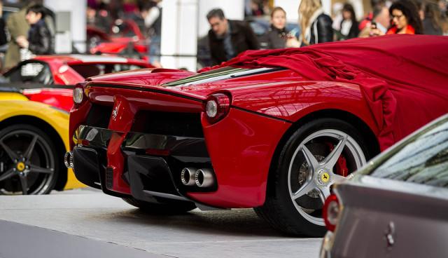 Ferrari-Hybrid-Modelle