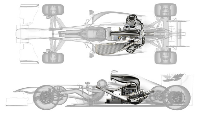 Formel 1 hybridmotor Renault