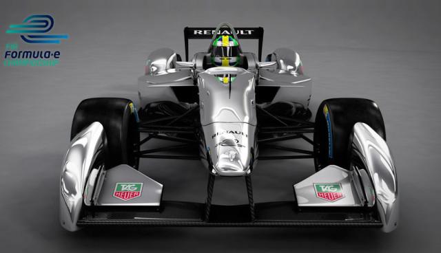 Formel-E-Rennwagen
