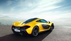 McLaren P1 Hybrid Heck 2