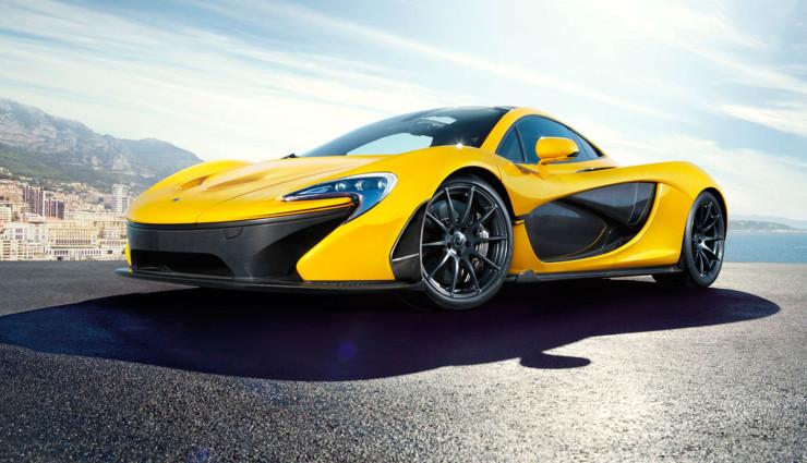McLaren P1 hybrid Front
