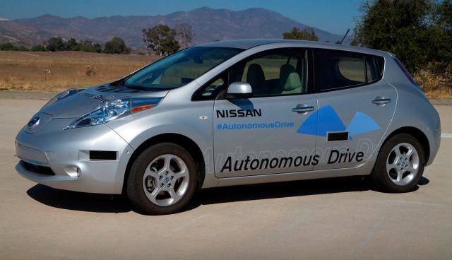 Nissan will selbstfahrende Autos bauen