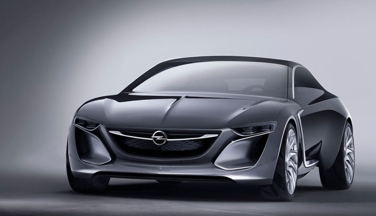 Opel Monza Concept Elektroauto Front 2