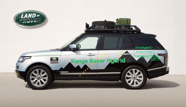 Range Rover Dieselhyrbid Preis