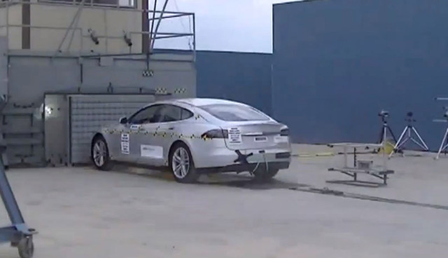 Tesla Model S Sicherheit, Crashtest