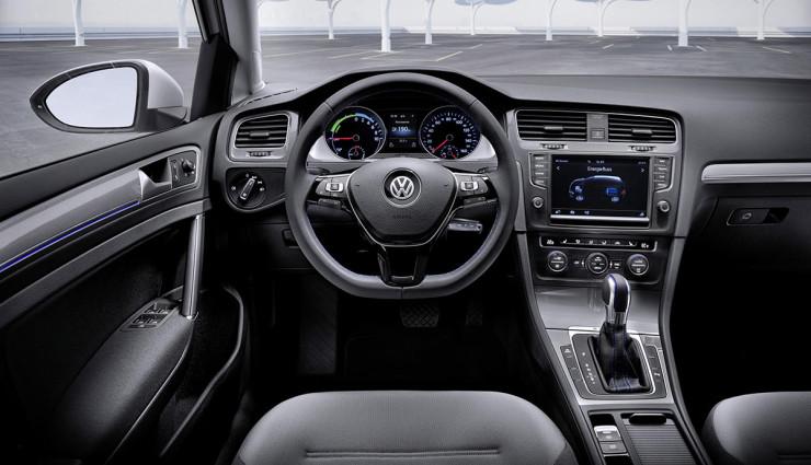 Volkswagen-e-Golf-Innen