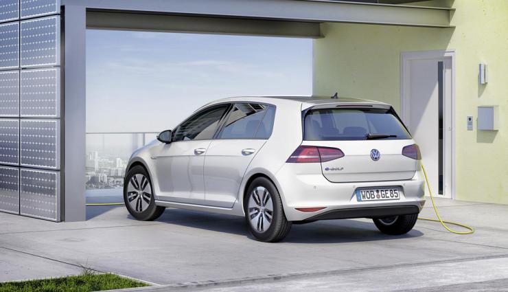 Volkswagen-e-Golf-Laden