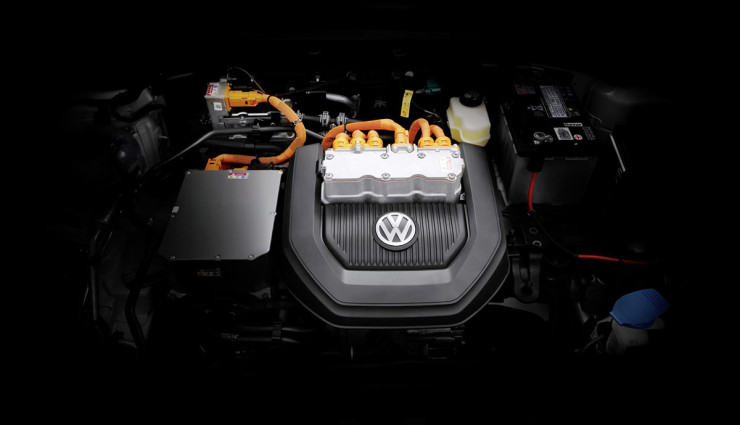 Volkswagen-e-Golf-Motor