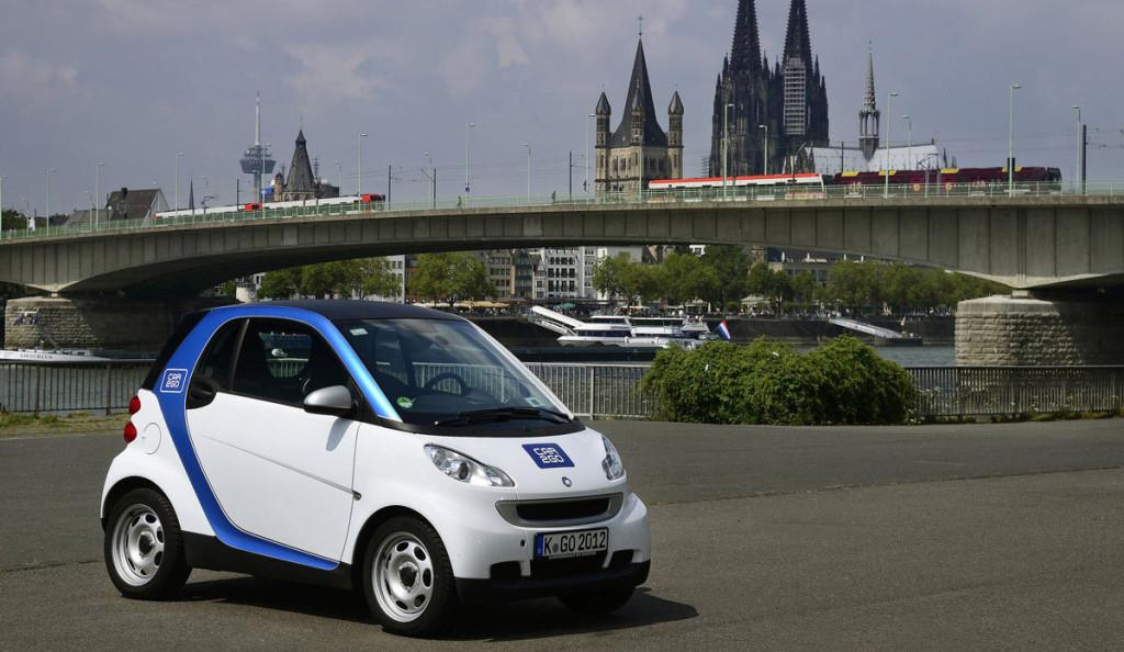 Car2go Geschäftsgebiet Köln