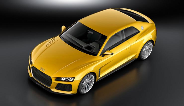 Audi Sport quattro concept Hybrid Front