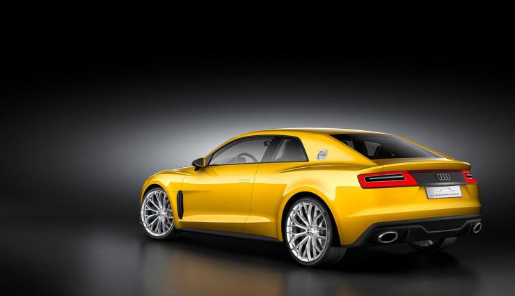 Audi Sport quattro concept Hybrid Heck